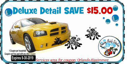 Mobile Detailing Coupons  Orlando